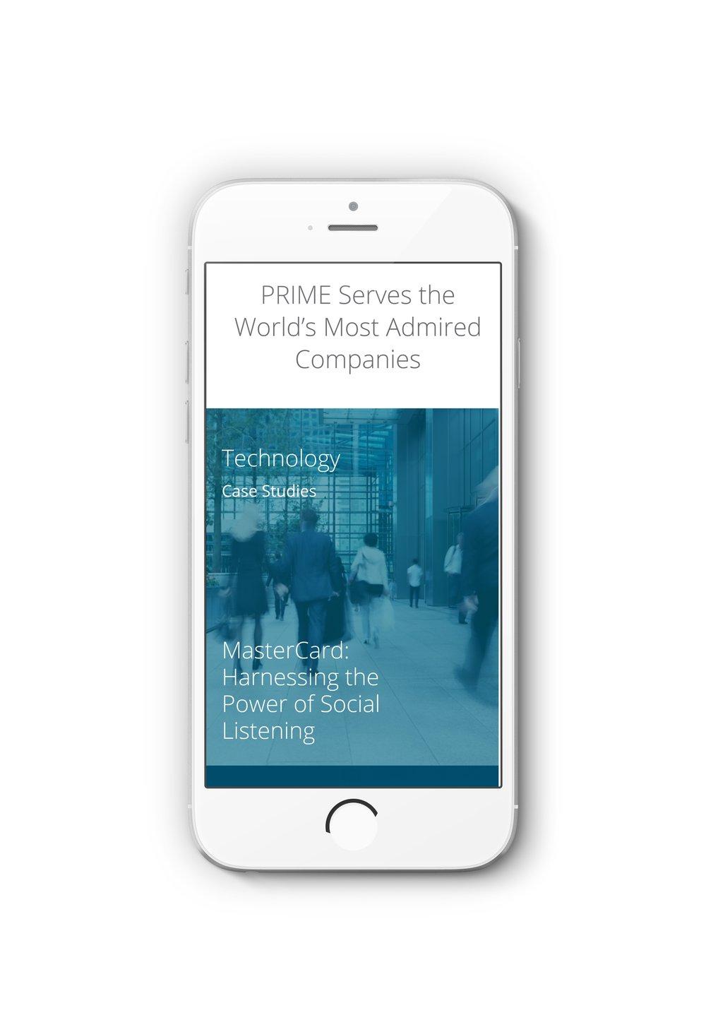 PRIME Research Responsive Design