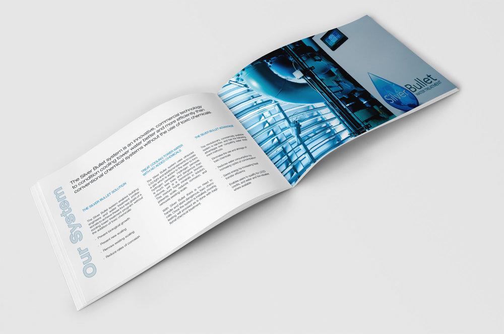 Silver Bullet Brochure Open