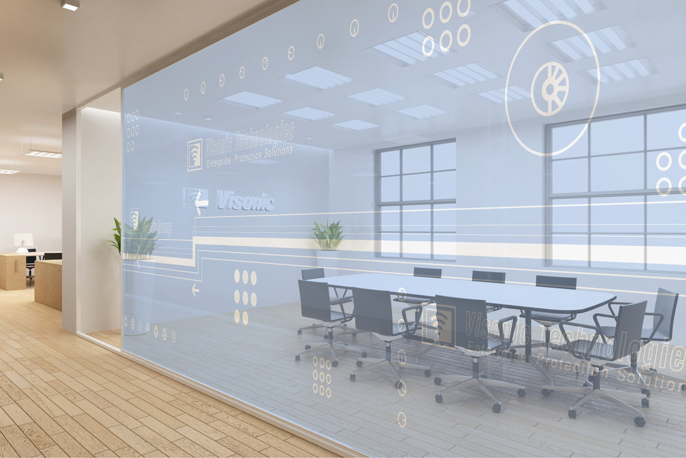 Office Glass Wall Panels Design