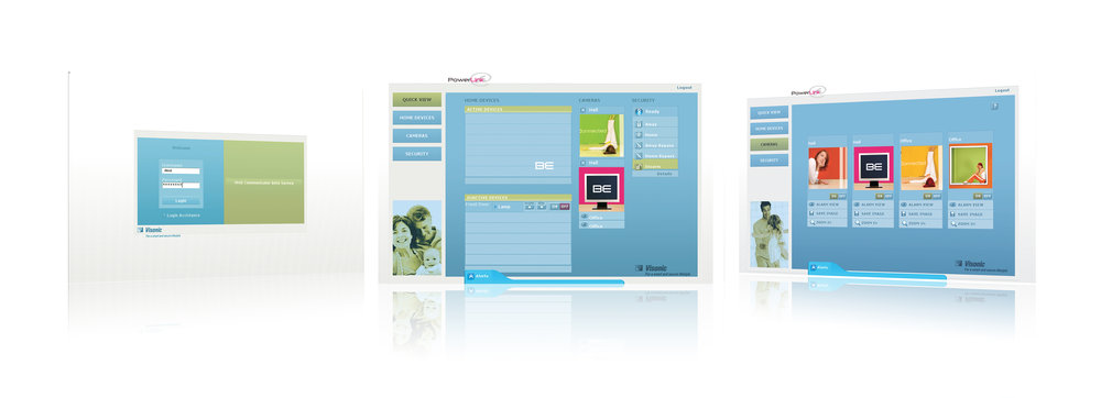 PowerLink Product Launch- Application screens