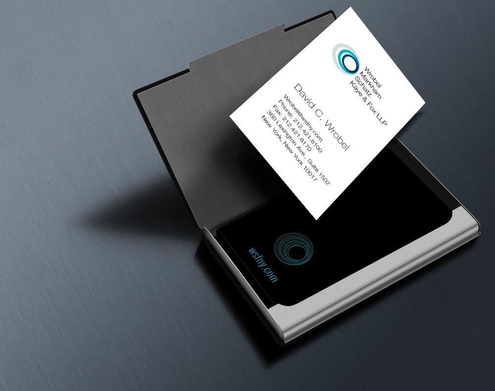 Wrobel Markham Schatz Kaye & Fox LLP - Business Card