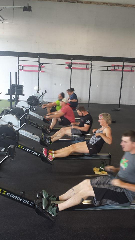 Calorie rowing!... You know you love it!