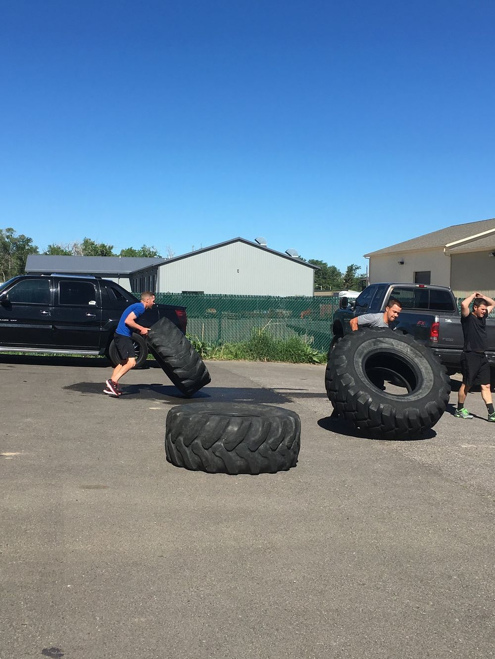 Who wants to do some Tire Flips?!