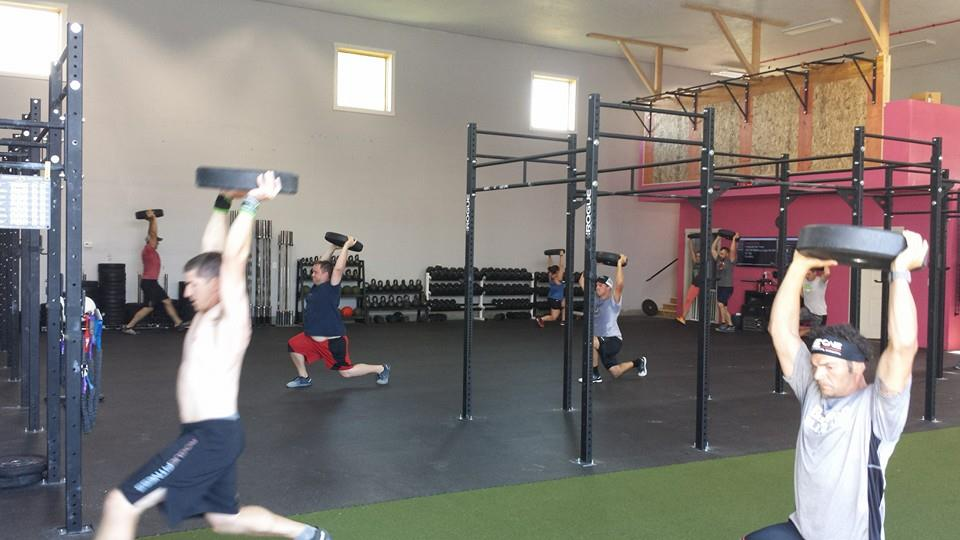 Who wants more Overhead Lunges?!
