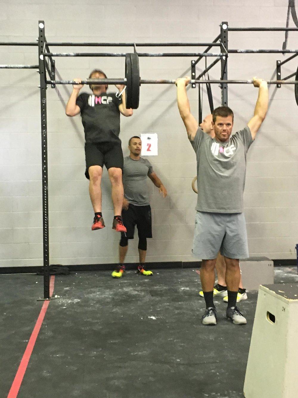 Way to go in Billings, Team Hyalite CrossFit Men's Scaled!