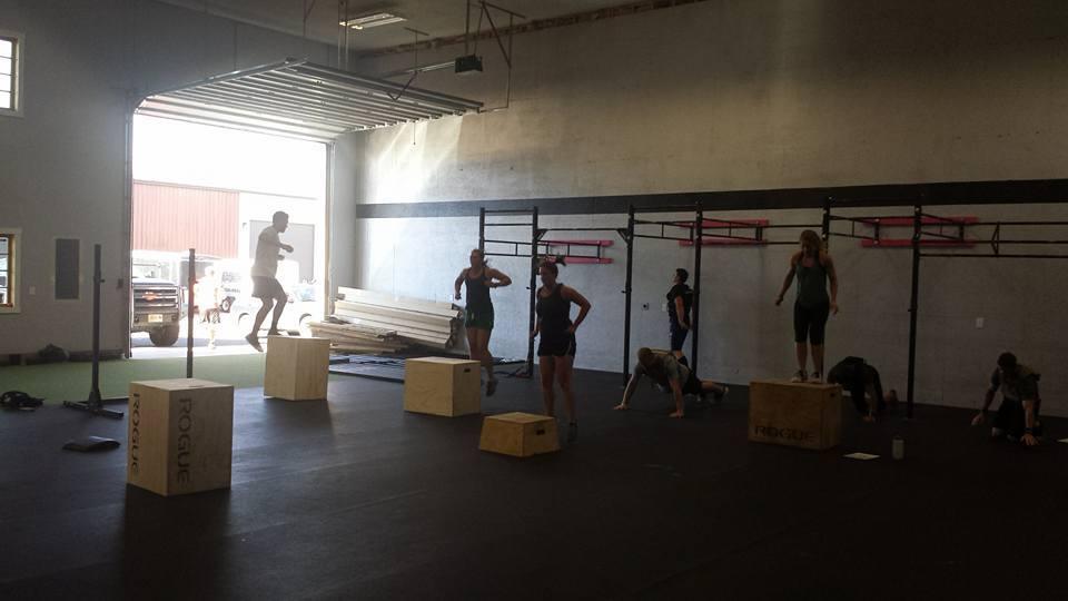 Box Jumps!