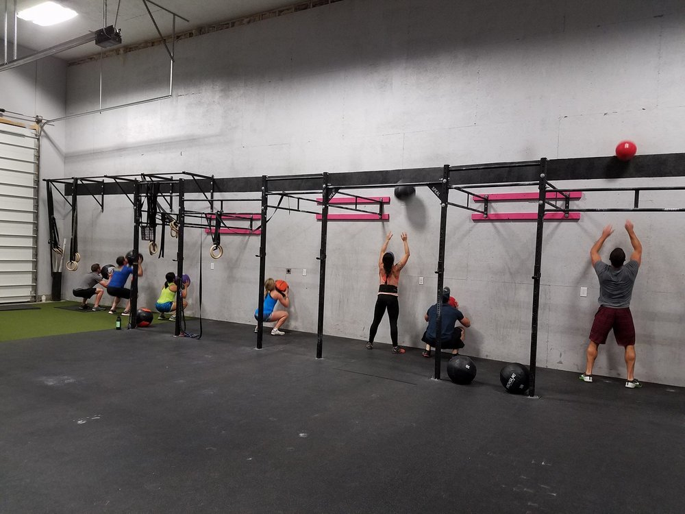 What would a 30 minute torture-fest be without Wall Balls?!