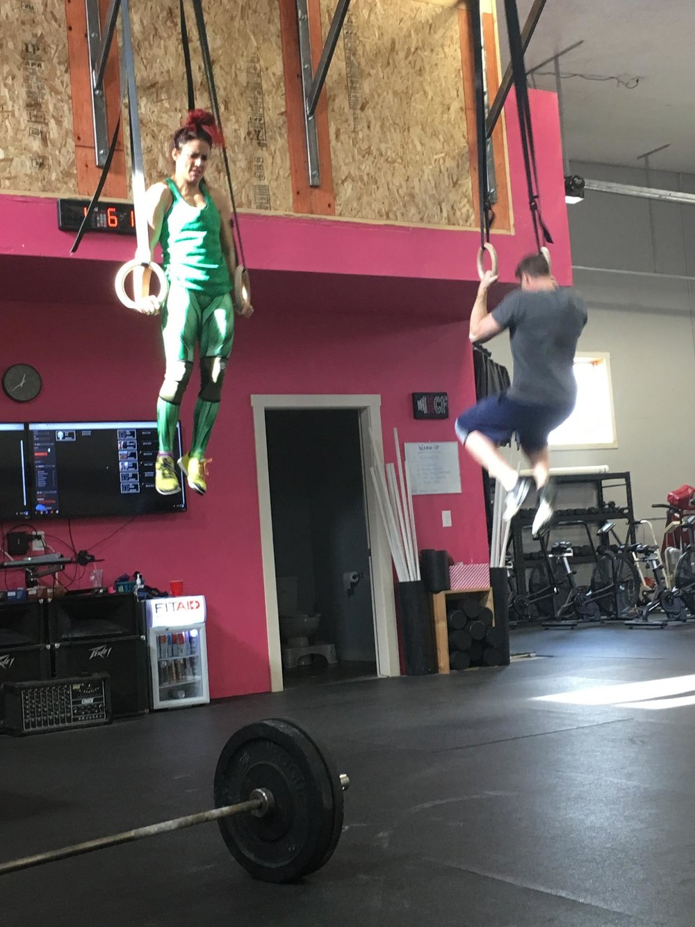 Muscle-Ups!