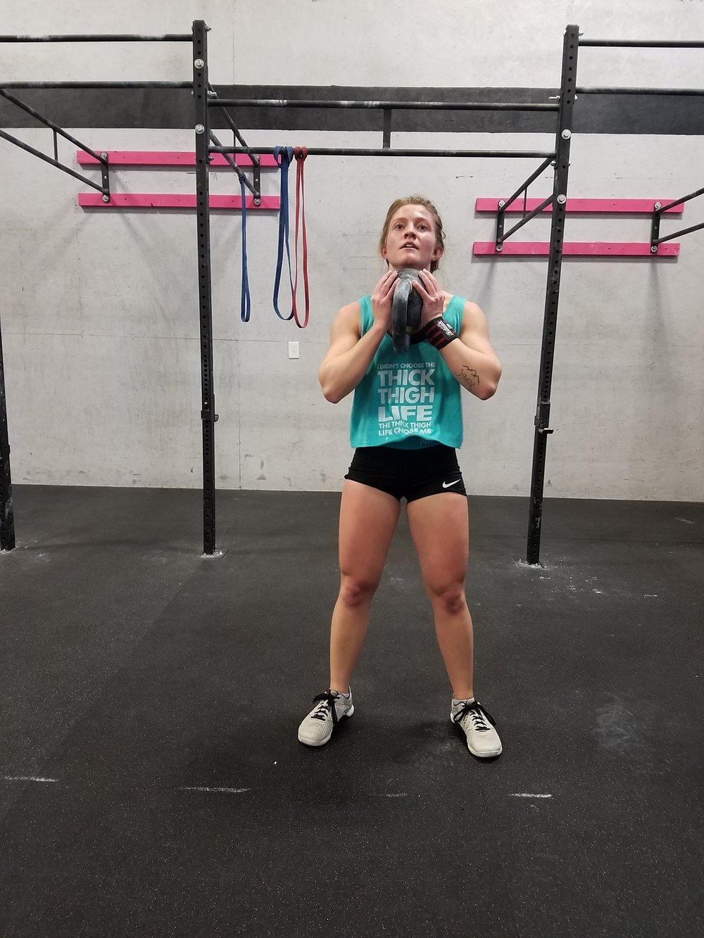 Like this but much worse and with a Back Squat!
