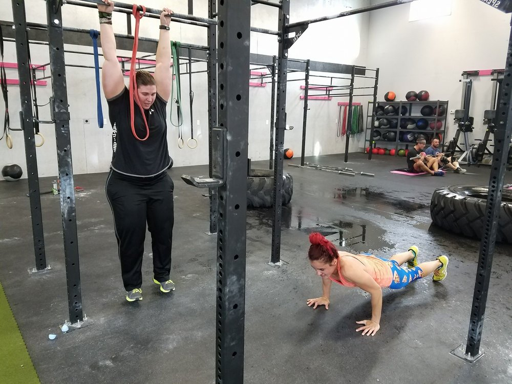 Pull-Ups and Push-Ups will be part of it!