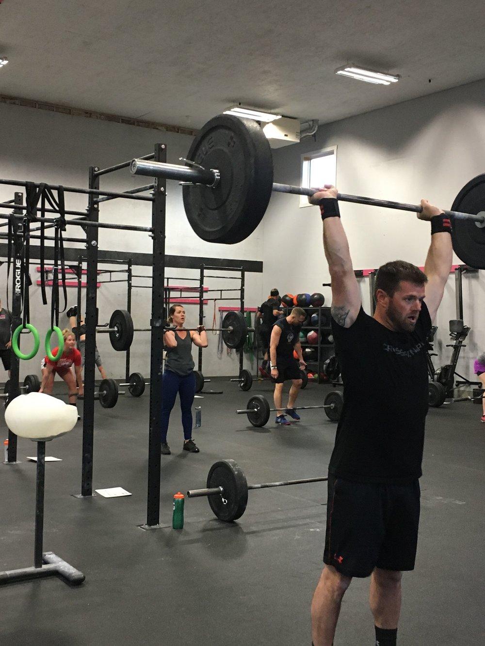 Darek is strong!