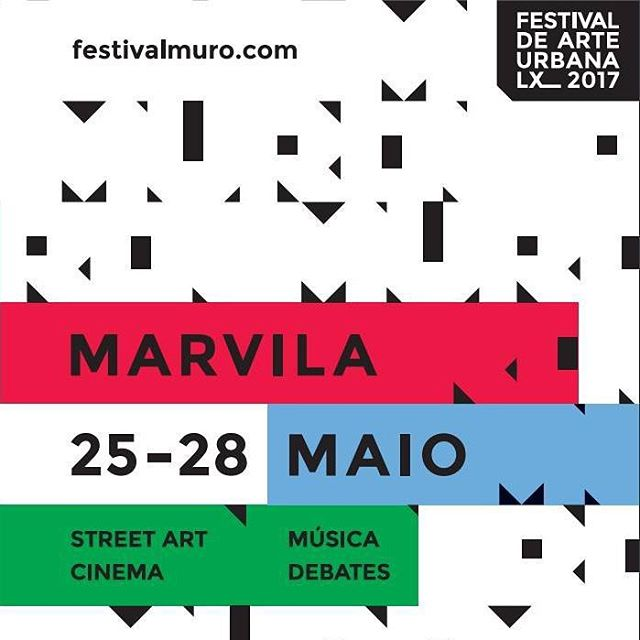 AGENDA arranca hoje o MURO | Festival de Arte Urbana Lx_2017, uma iniciativa da @galeria_de_arte_urbana que irá decorrer até domingo em Marvila. Vejam este e outros eventos na nossa agenda - today kicks off MURO | Street Art Festival Lx_2017, an initiative of @galeria_de_arte_urbana which will take place until Sunday in Marvila. Check this and other events on our agenda - + https://www.portuguesematters.com/agenda  #portuguesematters #festivalmuro #festivalmurolx_2017 #arteurbana #urbanart #streetart #portugal #lisboa #lisbon #marvila