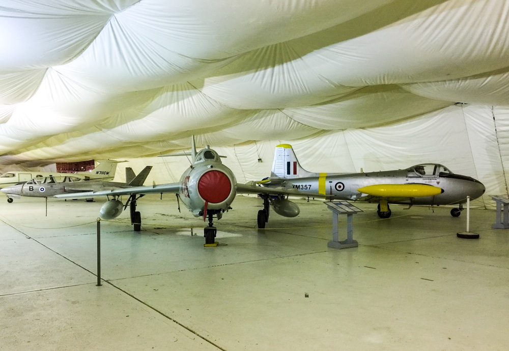Fouga-CM 170, Mig-17, and BAC Provost Mk. 3A