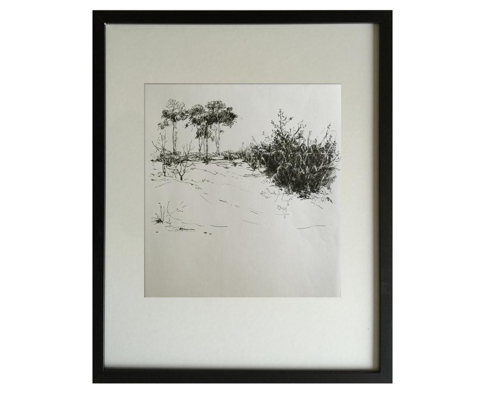 Landscape in winter 1