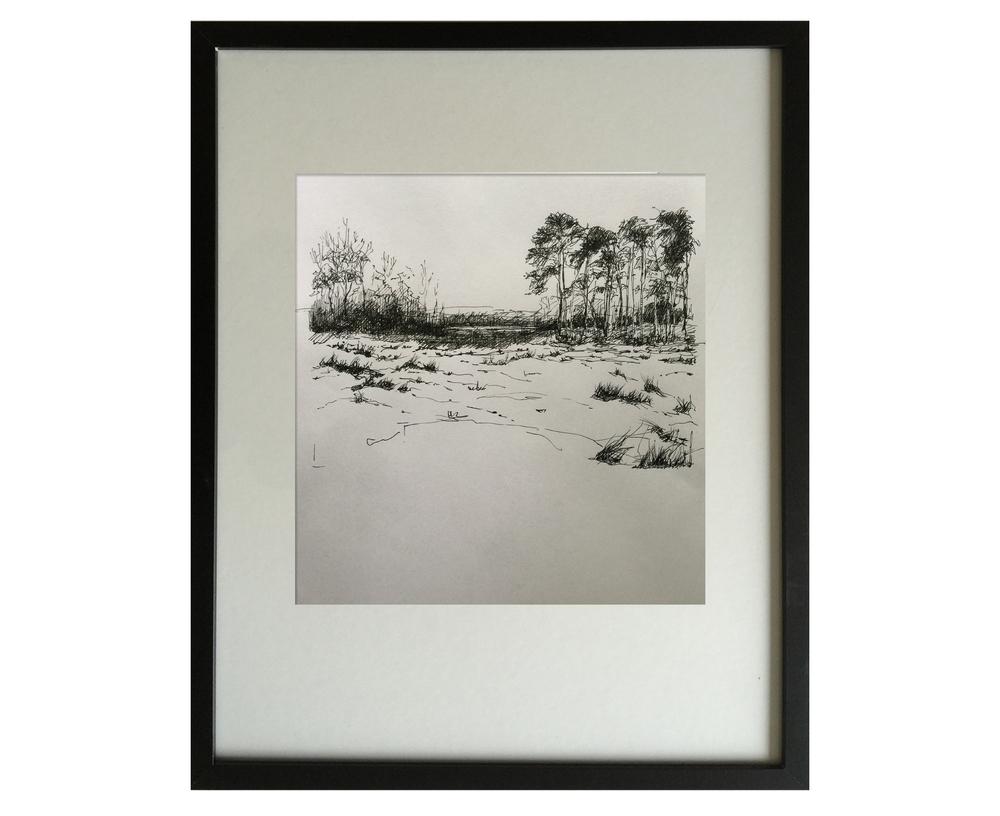 Landscape in winter 2