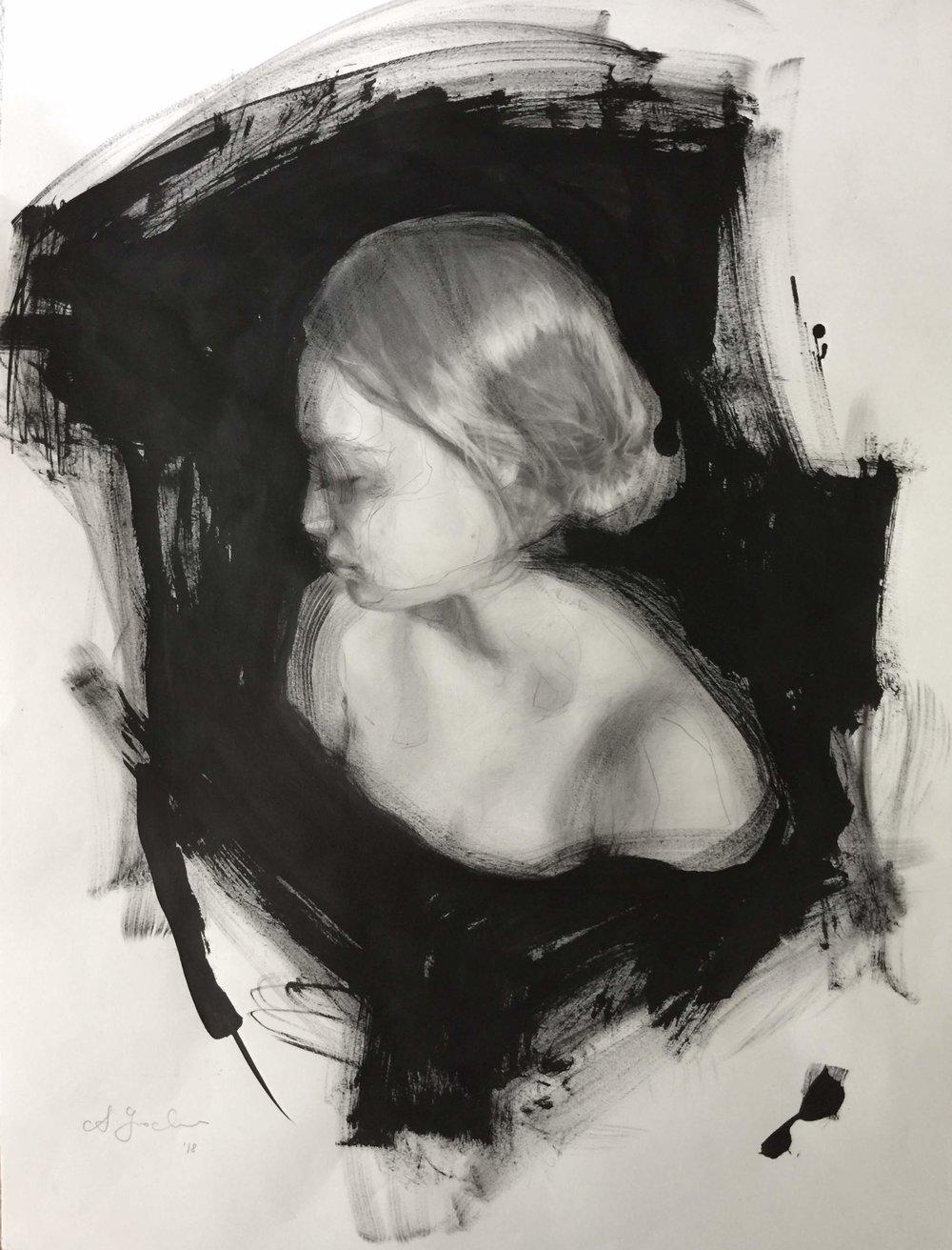 'Bust 3', 18x24%22, ink & graphite.JPG
