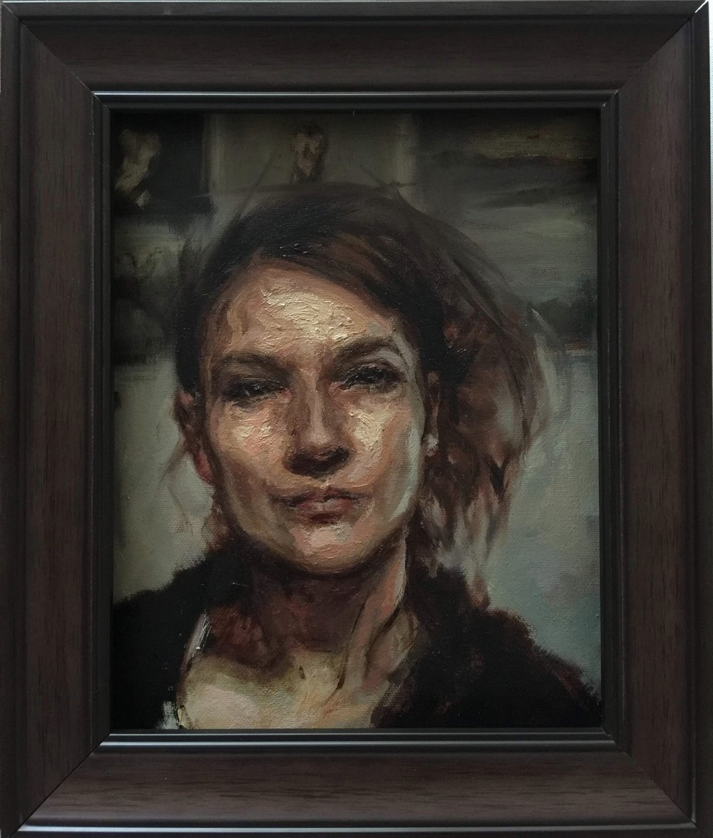 Agnes_Grochulska_Self_portrait_in_the _studio_8x10_oil.JPG