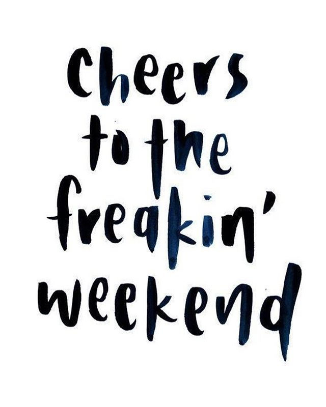 That was one heck of a week! Looking forward to a couple days of rest, relaxation and recharging.....and mayyyyyyyyyyybe kicking off the birthday celebrations early! 😉🥂 . What are you looking forward to this weekend?