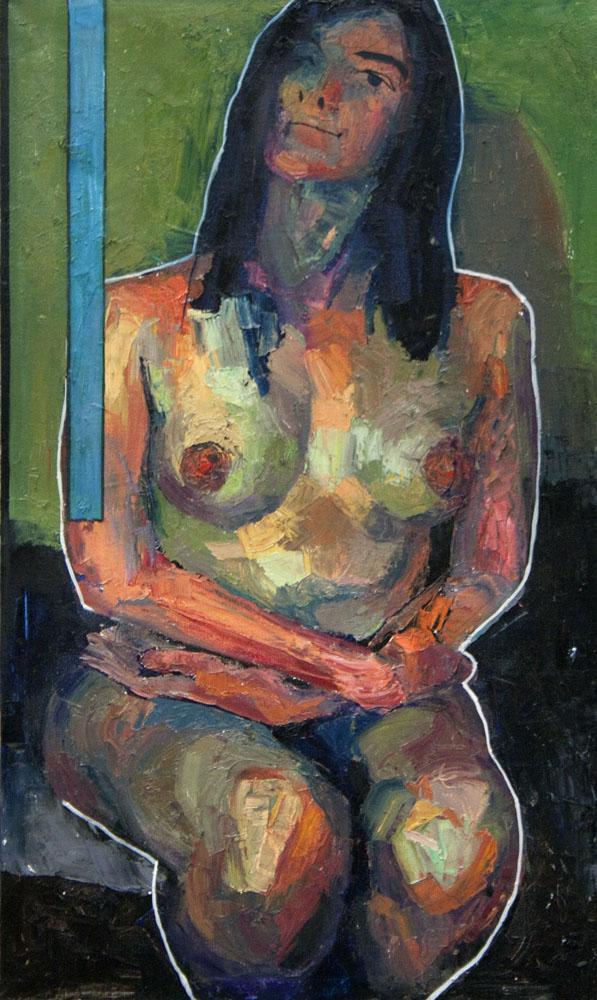 """""""Prototype"""" 2016 Oil on canvas 109 x 65cm """""""