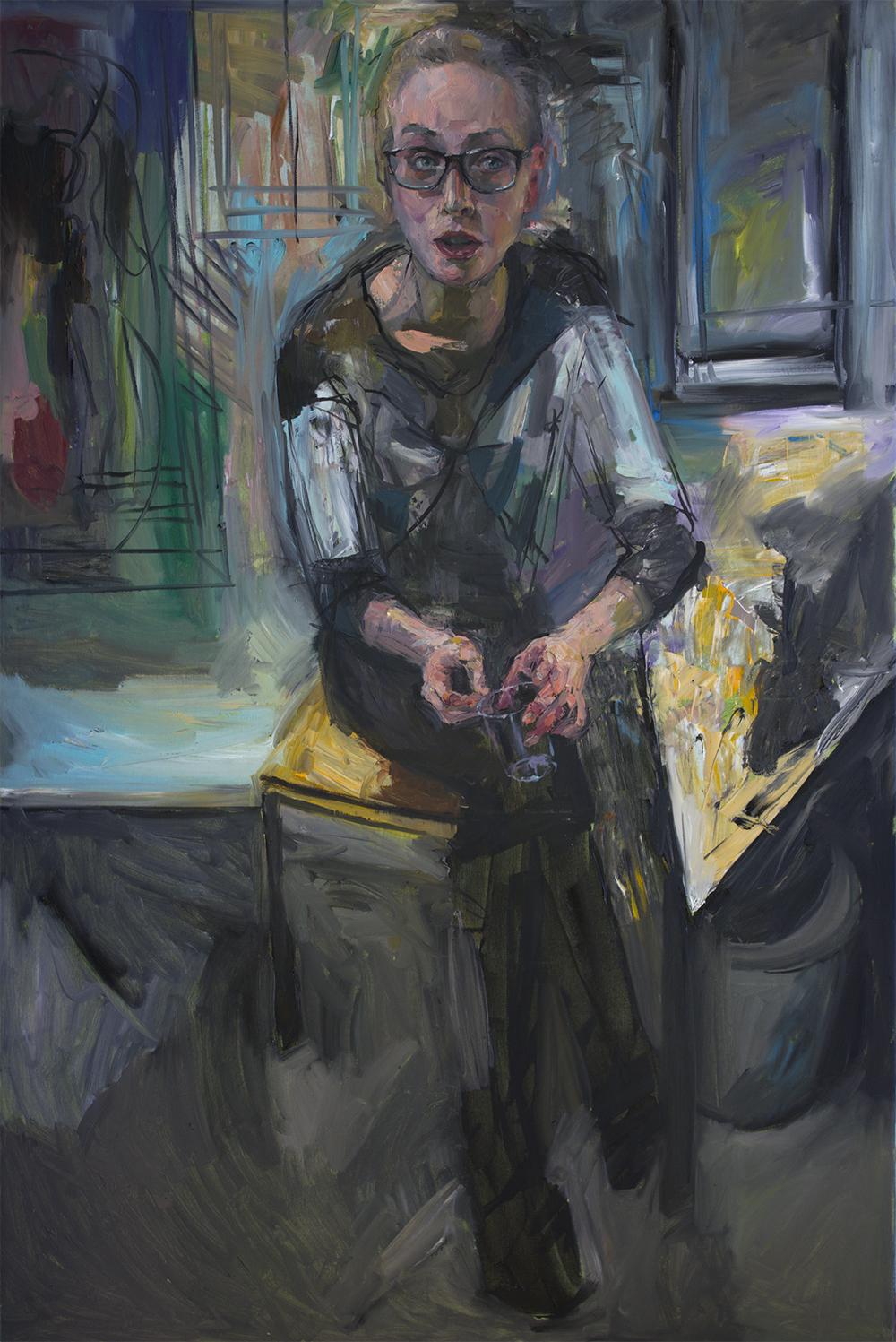 Hanna 2018 Oil on canvas 150 x 100cm