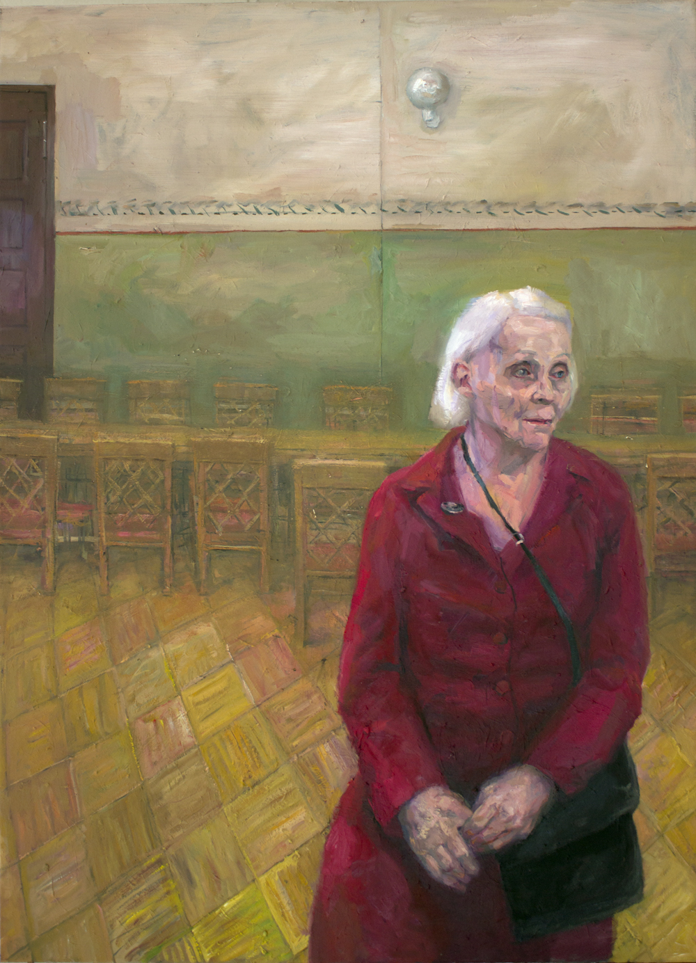 """Grandmother"" 2018 Oil on canvas 89 x 65cm"