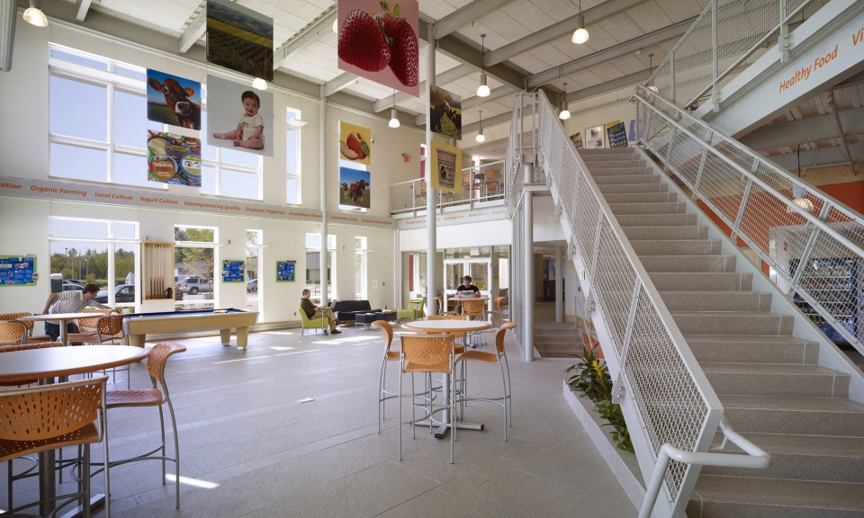 Stonyfield farm offices propel studio architecture for Architecture firms portland