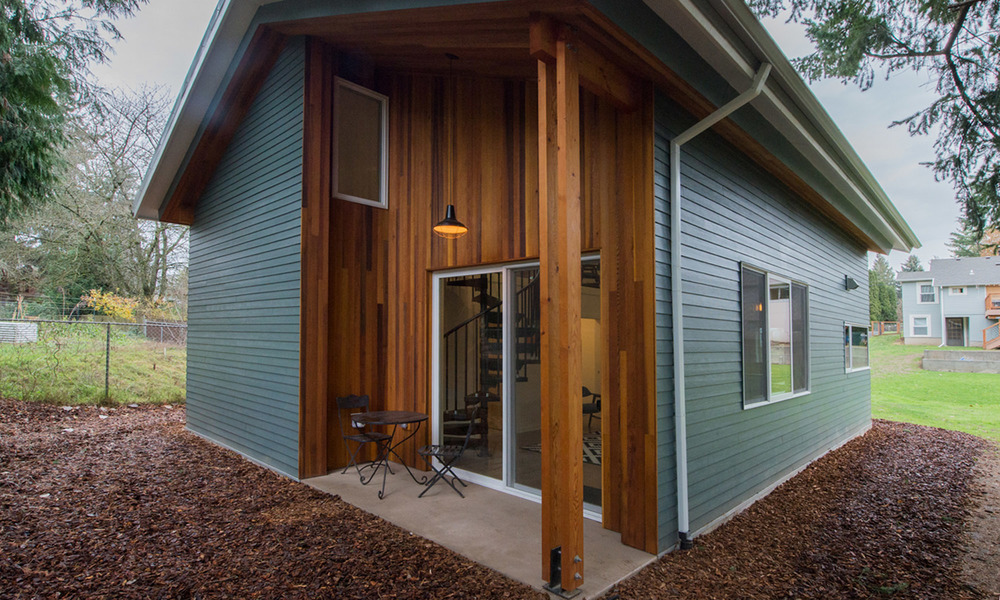 The Carve out Northwest Modern ADU Propel Studio Architecture