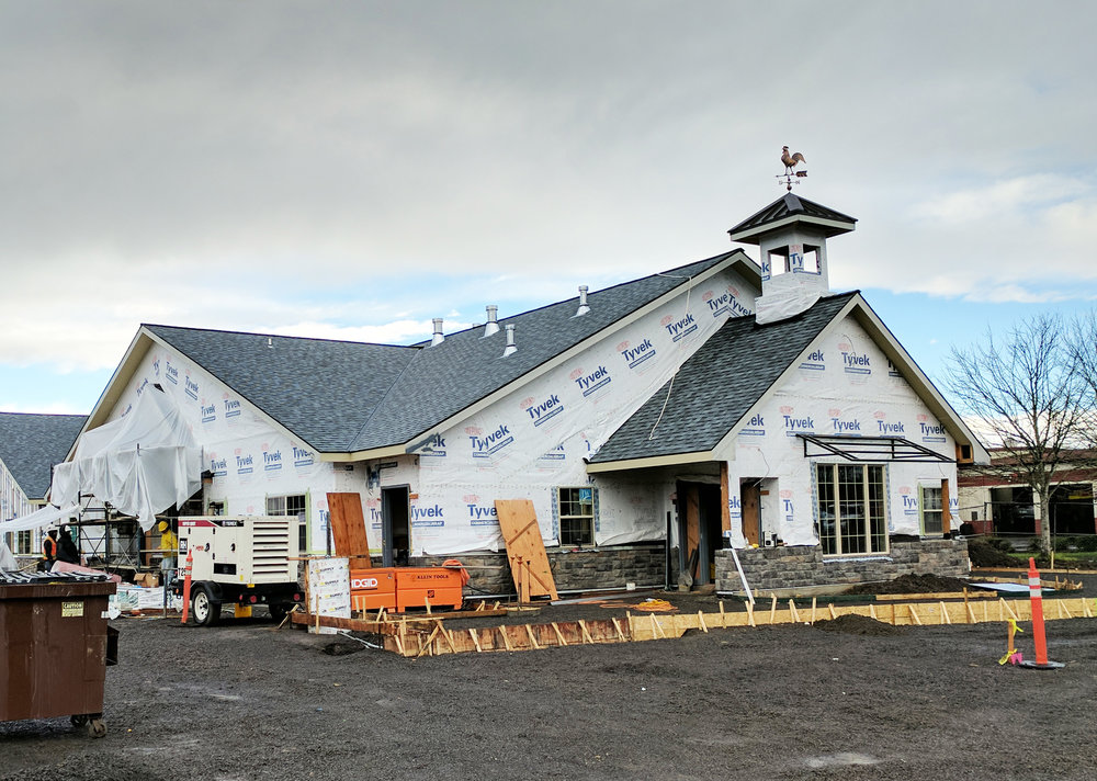 The Primrose School in Hillsboro, Oregon is scheduled for completion in January 2017