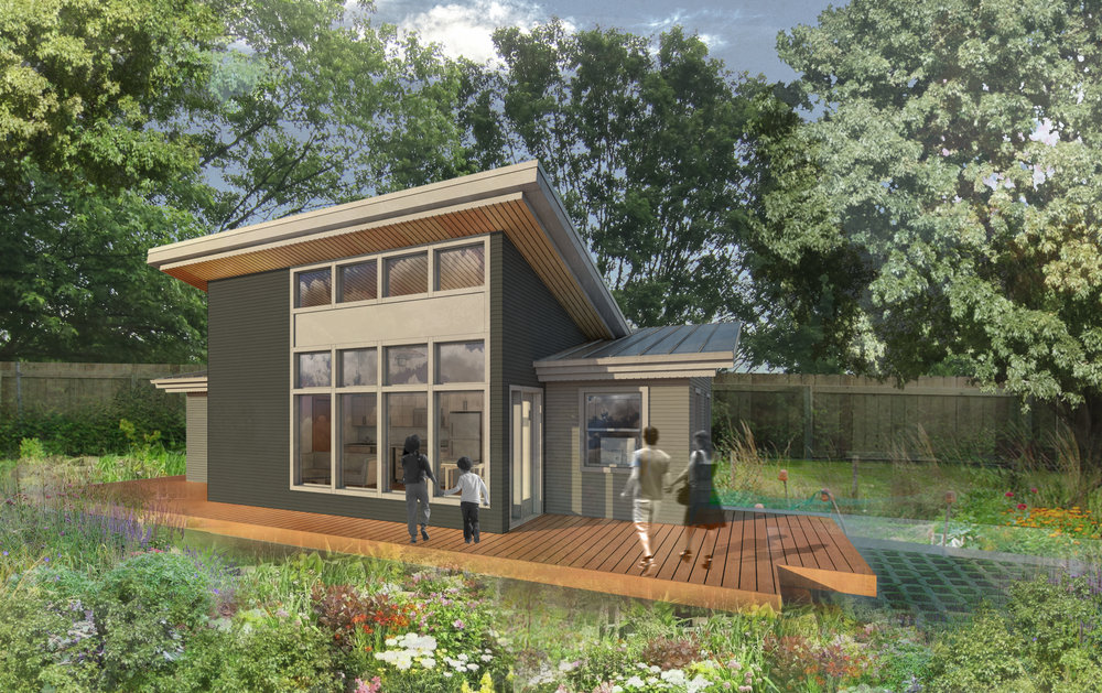 The compact sustainable portland adu propel studio for Accessory dwelling unit designs