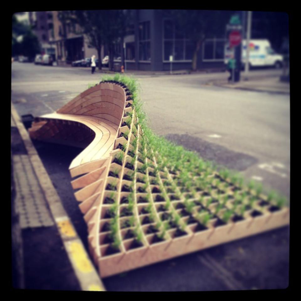 Portland Street Seat Design