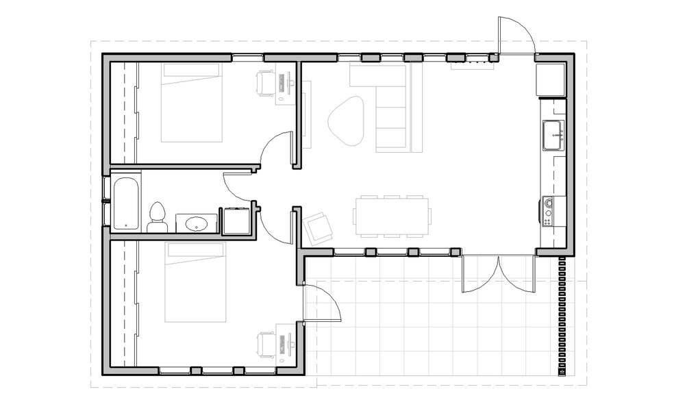5 tiny tips for designing and building an accessory for Accessory dwelling unit floor plans