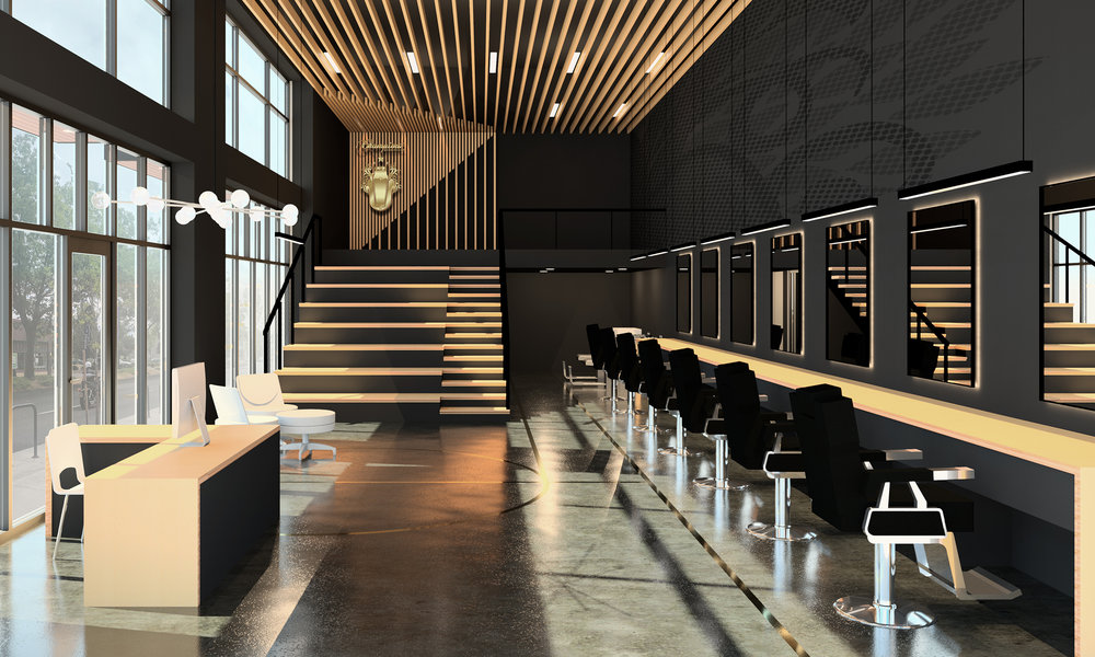 Champions Barbershop Propel Studio Architecture Firm