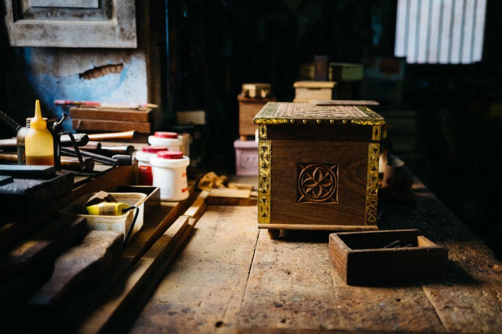 A Zanizibar chest