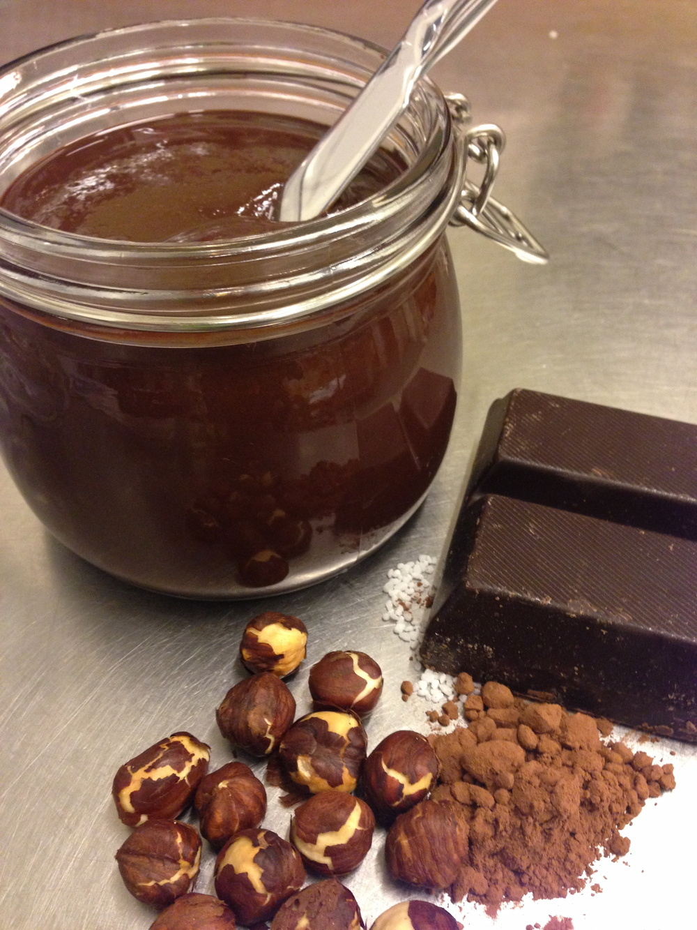 Chocolate hazelnutbutter