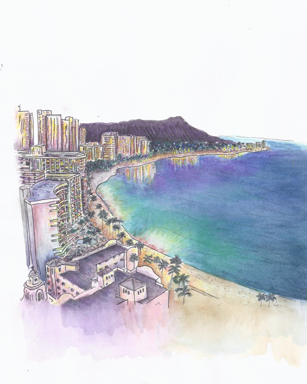 diamond head watercolor3.jpeg