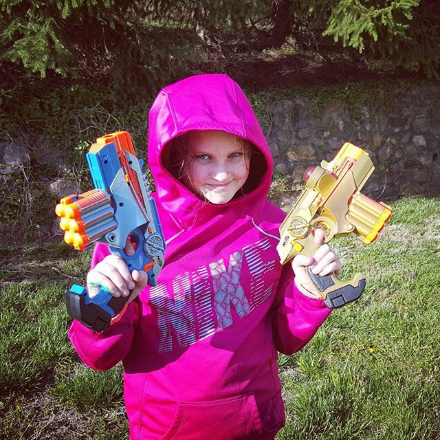 Menace #lasertag #tag #momblogger #momblog #toyguns #partyrentals
