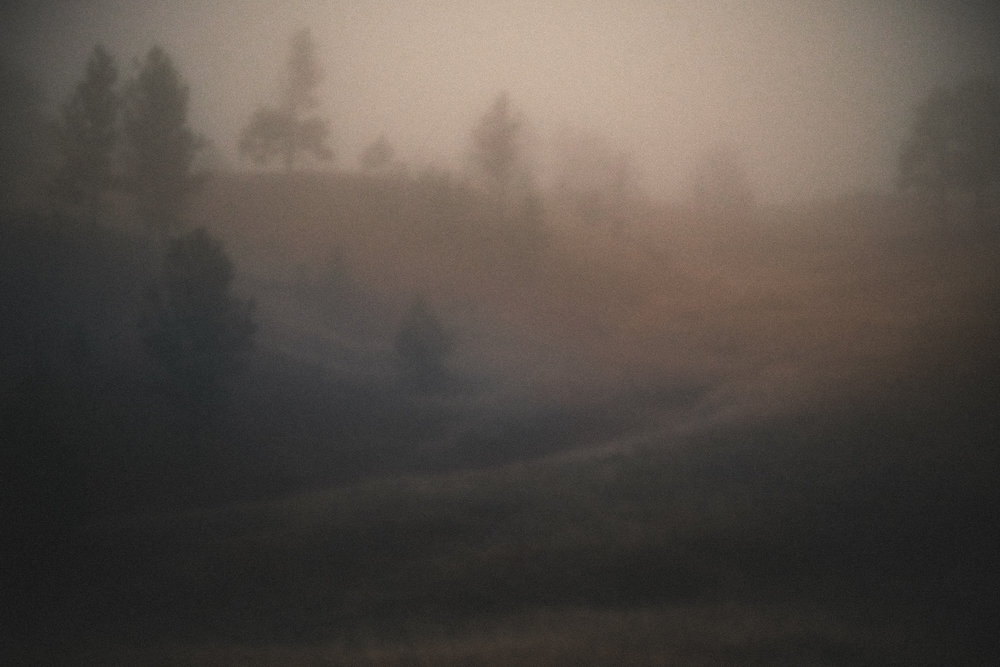 Foggy Blur, Wyoming