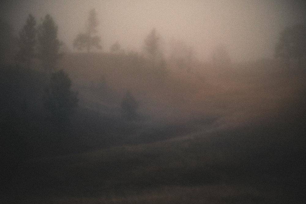 Foggy Blur, Wyoming
