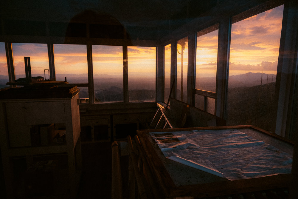 Fire Lookout, Chiricahua