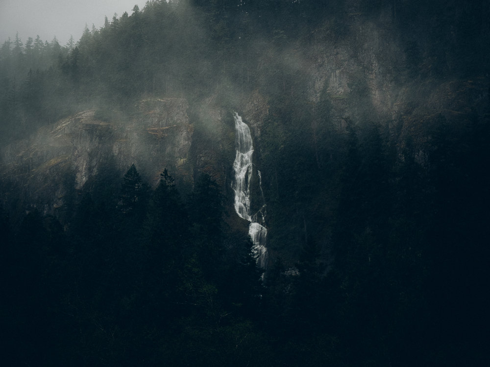Early Snowfall, Mt. Rainier