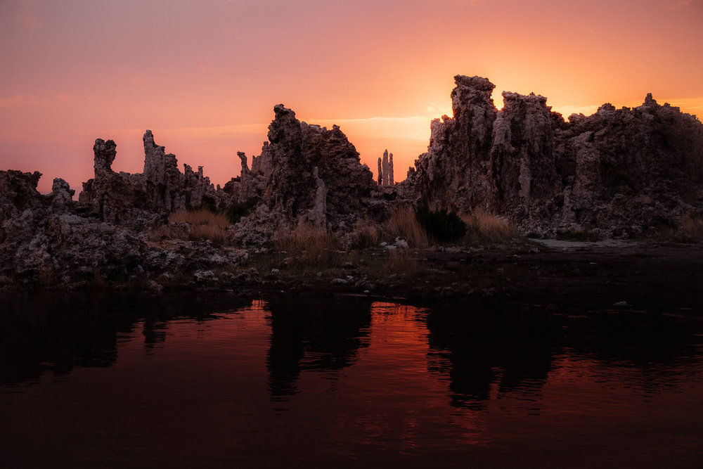Sunrise over the Tufa, Mono Lake