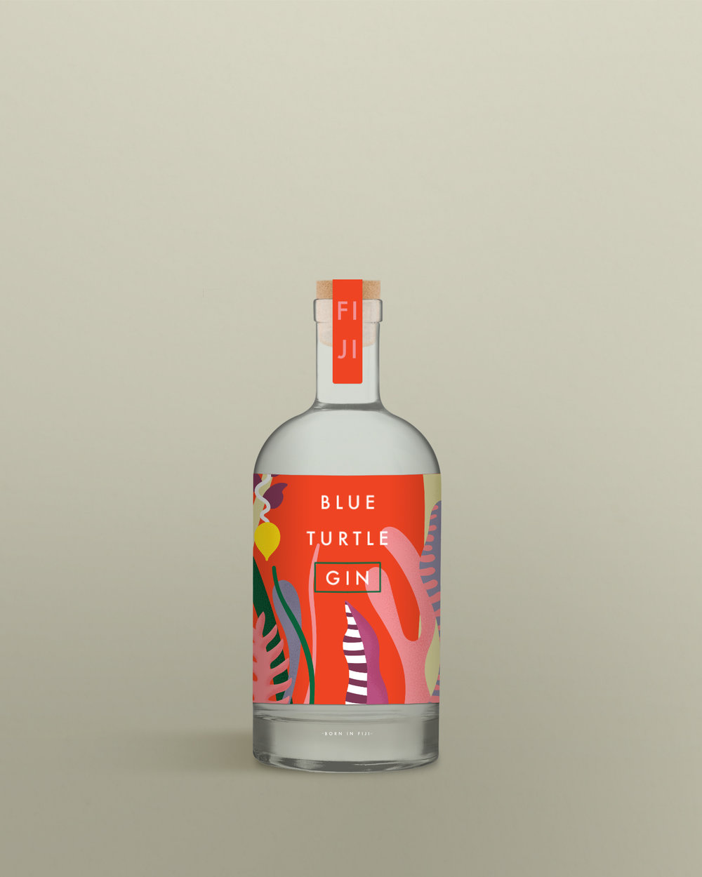 FIJIAN GIN LABEL DESIGN