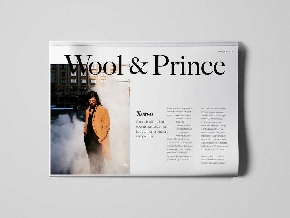 Newsprint Catalog Mockup