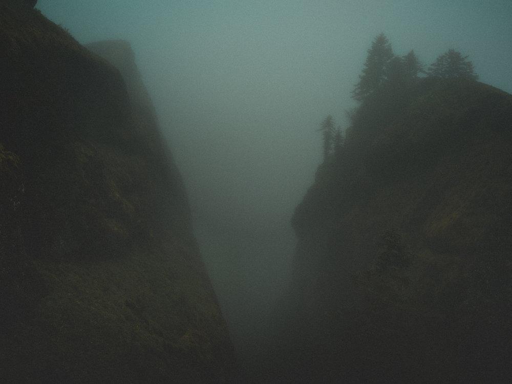 saddle mountain fog
