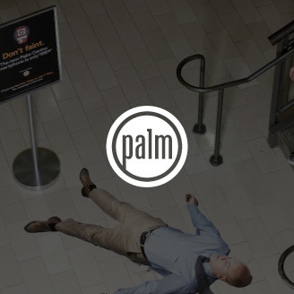 The launch of the new Palm Centro helped increase unique site visitors a whopping 300%