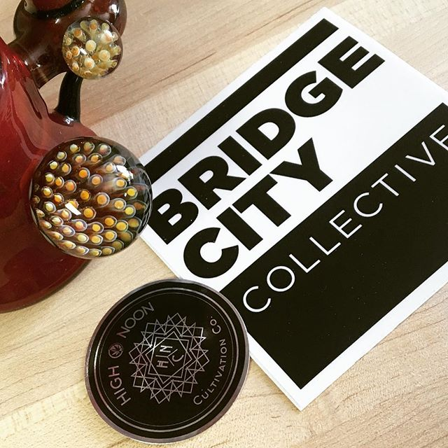 We will be down at @bridgecitycollective_pdx (Williams location) tomorrow from 12 - 4. C'mon down, chat with us, and get a deal on some 🔥See ya there😎. #highnoon #bridgecity #portland #ommp #deals #tuesday #indoor #cannabis #hightimes #weedstagram #thc #cbd
