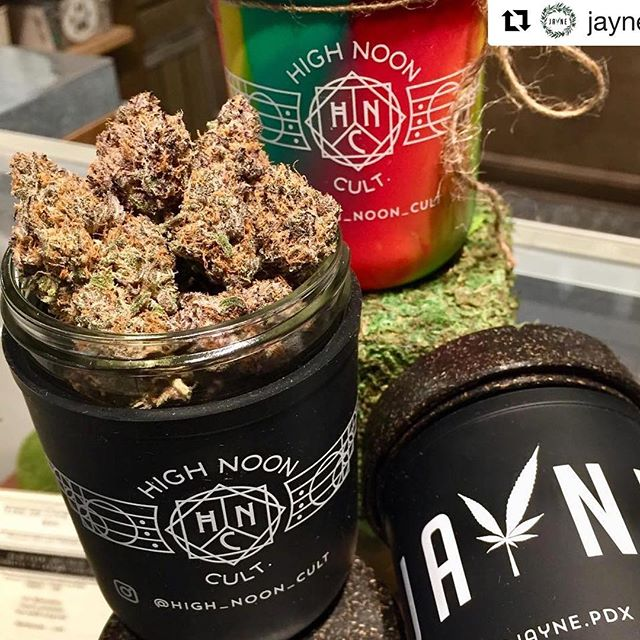 #Repost @jayne_pdx with ・・・ Mendo Ultra Violet 💜 . Indica Dominant Hybrid THC 21.42% | CBD 0.00% Terpenes 2.06%  Top Terpenes:  Limonene (Pine)🍋& Myrcene (Sweet)🍓 . . This potent Indica will have your body buzzing with blissful relaxation. It's equally heavy in cerebral and body sensations which makes this cultivar a great choice to wind down any day. Come down and see it for yourself, it will not disappoint!  @high_noon_cult . . . We also have Re.Stash Jars available for sale and make a great New Years Resolution to reduce our use of plastic. These are glass mason jars that are re-useable and protected with a silicone sleeve so if they drop or fall your stash is safe! Re.Stash also has a child proof lid and is smell proof so it's locked and safe for those kiddos or fur-babies.  Available in Black or Rainbow Rasta 🌈 . . . @re_stash @jayne_pdx . . . . . . . . . . #mendoultraviolet #mendobreath #indica #hybrid #relax #soothe #bodybuzz #bodyhigh #flower #topshelf #beautifulbuds #eyecatching #thc #terpenes #dispensary #pdxdispensary #budtenderlife #restash #cannabiscommunity #cannabis #pdxweed #pdx #portlandoregon #oregon #pnw #neportland #newyearsresolution #nomoreplastic #420 . . . . 🚫Do not operate a vehicle or machinery while under the influence of marijuana. 🚫For use only by adults 21 years and older. 🚫Keep out of reach from children.