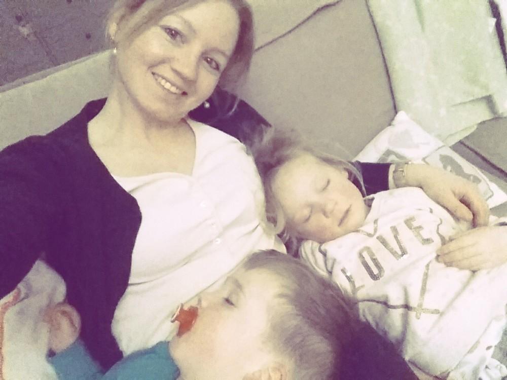 Ze zijn zo prachtig als ze slapen, zo puur, zo lief, zo…..mijn alles, mijn trots.