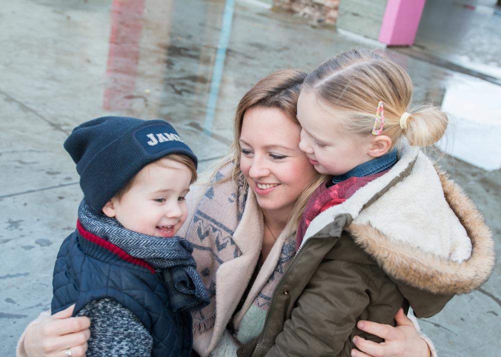 Picture perfect…. happy kids, happy mom, maar het kan ook anders …. Foto by: Marly Huijben Fotografie