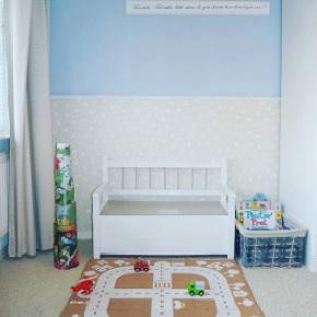 Ook dit is weer een gezellig speelhoekje in James zijn kamer geworden.